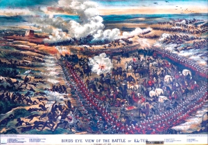 A Bird's-Eye View of the Battle of El-Teb