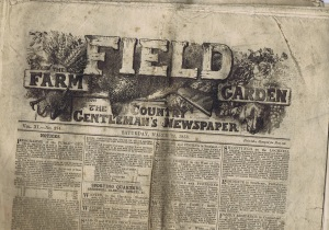 The Field: The Country Gentleman's Newspaper, 27 March 1858