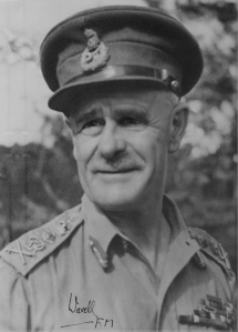 Field Marshal the Earl Archibald Percival Wavell.