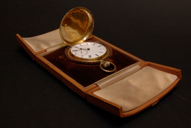 The Pocket Watch of Capt PL Moubray