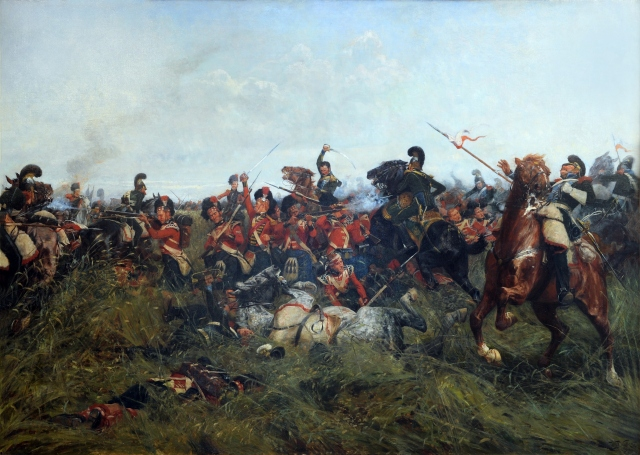 'The Black Watch at Bay' by WB Wollen