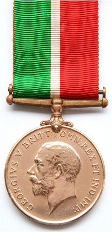 mercantile marine medal