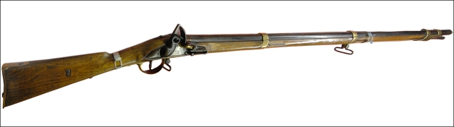 Russian musket captured at the battlefield of the Alma.