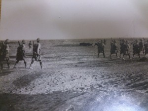 BW Soldiers Marching