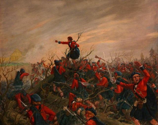 unknown artist; The Battle of Ticonderoga